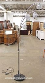 Mid Century Modern Designer Floor Lamp  Located Inside – Auction Estimate $200-$400