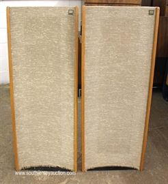 "PAIR of Mid Century Slim Line Speakers by ""Magneplanar""  Located Inside – Auction Estimate $200-$400"