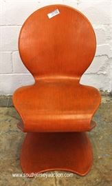 Mid Century Modern Laminated Chair  Located Inside – Auction Estimate $300-$600