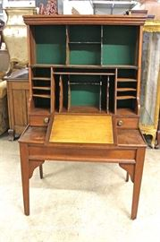 ANTIQUE Country Harvest Masters Desk  Located Inside – Auction Estimate $300-$600