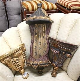 Selection of HIGH END Decorator Sconces, Shelves and Frames – some with Original tags  Located Inside – Auction Estimate $20-$200
