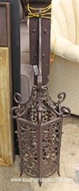 Cast Iron Gothic Style Wall Sconce  Located Inside – Auction Estimate $100-$200