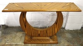 Modern Design Rosewood Sofa Table  Located Inside – Auction Estimate $200-$400