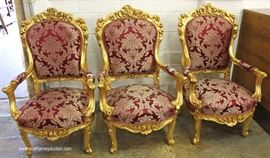 Large Selection of French Style Living Room Furniture  Located Inside – Auction Estimate $50-$300