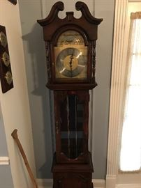 A Hamilton grandfather clock to chime along to