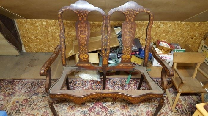 Double Chair back Setee