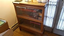 Globe Wernicke bookcase with bottom drawer