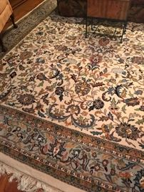 11x17 Keshan hand-knotted Oriental Rug