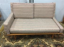Settee with arm