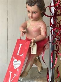 Come in and see our wonderful boy Bulto who is dressed for Valentines Day