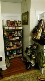Vintage shoes - lots of shoes