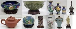 Asian collectibles and antiques