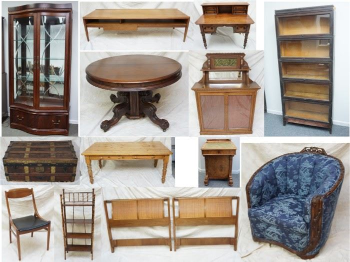 Just a small sample of furniture