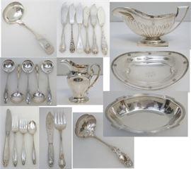 Sterling flatware & hollowware