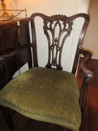 Mount airy dining set - table, 6 chairs and buffet BEAUTIFUL