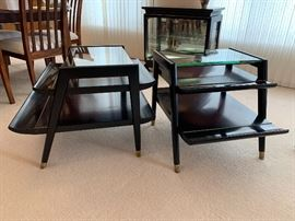 Vintage Mid Century Modern Gordon's Fine Furniture coffee table and two end tables