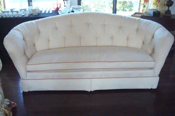 Baker off white sofa, excellent condition.