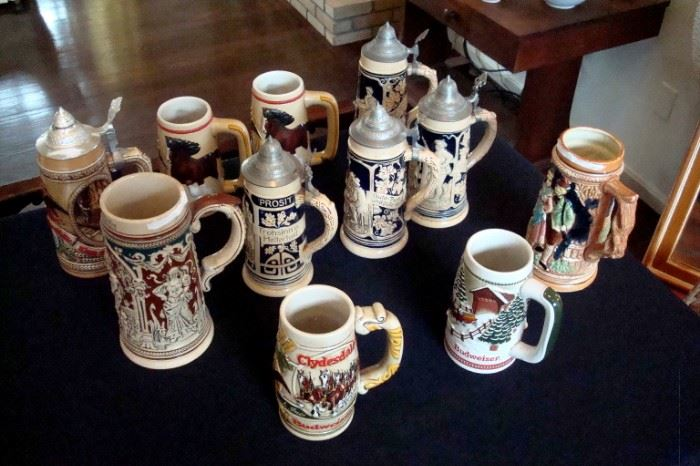 Collection Steins.