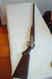 Antique Forhand & Wadsworth shotgun.