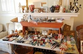 tons of treasures, USSR or Russian collectibles from their travels