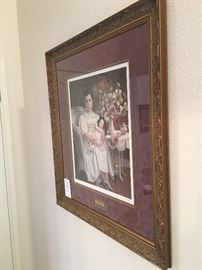 The romantic, Southern Gothic art work of Pati Bannister.  Each limited edition lithograph has been pencil signed, numbered and titled by the artist and the framing is exquisite. Very well priced for the collector.