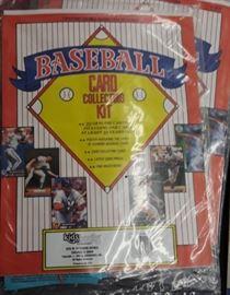 Baseball collector's kit