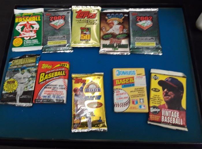 Vtg. Baseball cards