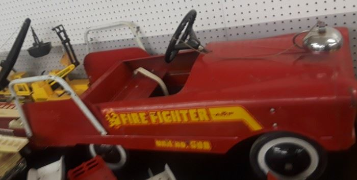 1950's AMF Fire Fighter Pedal Car