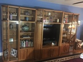 Entertainment Center - Only $200. Call for details.