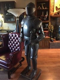 Suit of Armor 6ft tall. 22inch wide