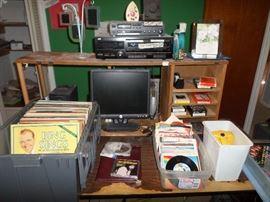 albums, 45's & 78's