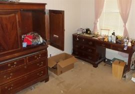 armoire & yet another desk