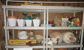 some of the finds waiting for you in the garden shed