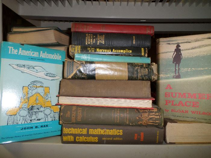 some of the really cool vintage books