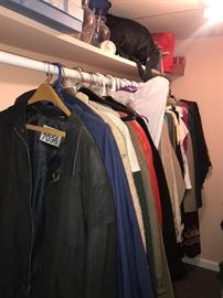 MEN'S CLOTHING AND WOMEN'S CLOTHING