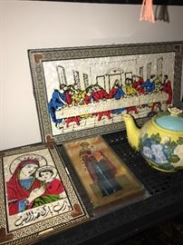 RELIGIOUS ITEMS AND ICONS