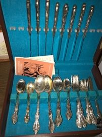 SILVER-PLATED FLATWARE