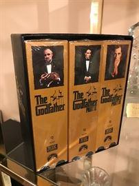 GODFATHER VHS SET