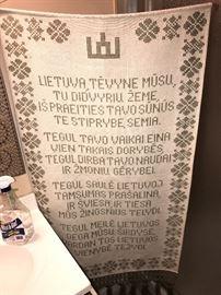 LITHUANIAN WALL ART