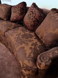 close up sofa