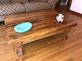 Close up of Royal Gorge Coffee table