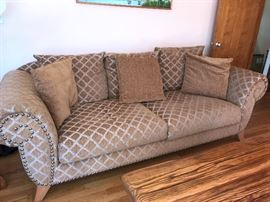 Close up of couch