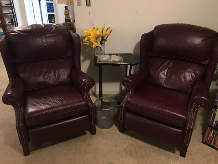 Leather Barca Lounger Recliners