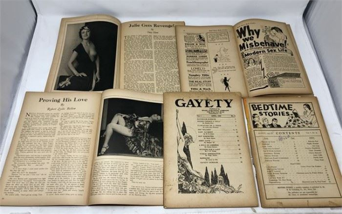 Very Large Collection Of Early American Erotica Publications (1930's) Lot#147