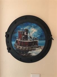 PORT HOLE WALL ART