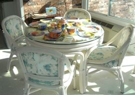 Beautiful Henry Link Patio furniture - a room full