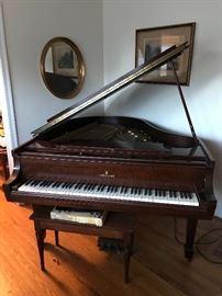 Steinway Model M Piano,1946