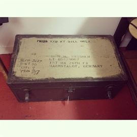 Military Trunk from Germany
