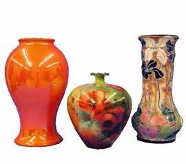 Moorcroft, Amphora & Willets Belleek Art Pottery
