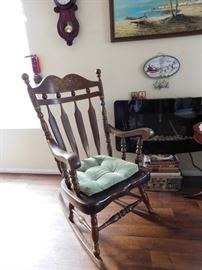 Vintage European Rocking Chair